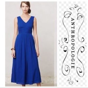 Edme & Esyllte Cobalt Maxi Dress
